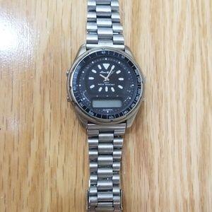 Eddie Bauer Stainless Steel Watch